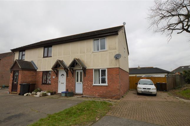 Thumbnail End terrace house for sale in Tortosa Close, Abbotts Heath, Colchester