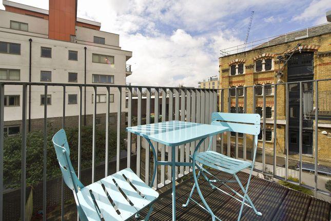 Balcony of Vesta Court, City Walk, Long Lane, London SE1