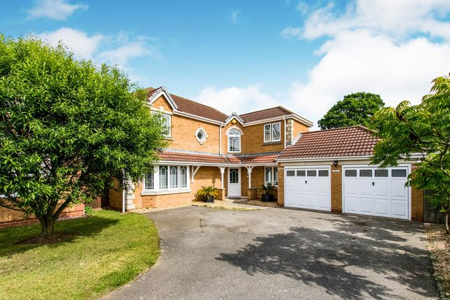 Thumbnail Detached house for sale in Ryedale Close, Grantham