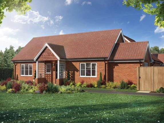 Thumbnail Bungalow for sale in The Pastures, Upper Caldecote, Biggleswade, Bedfordshire