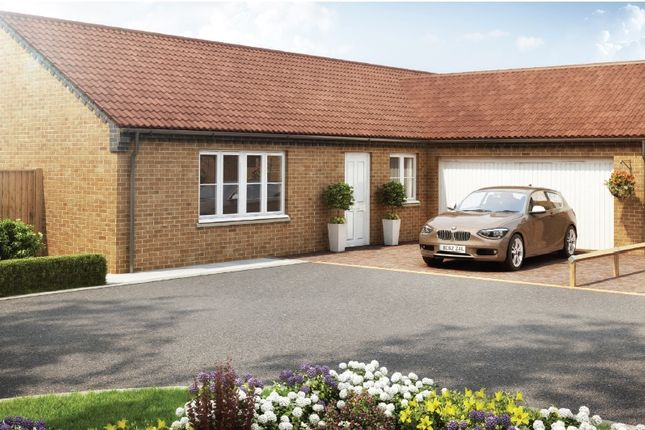 Thumbnail Detached bungalow for sale in Tindall Court, Holbeach, Spalding
