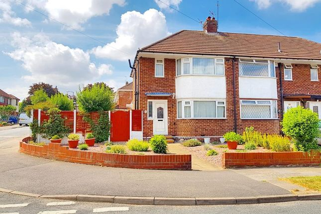 Thumbnail End terrace house for sale in Cherry Tree Avenue, Walsall, West Midlands