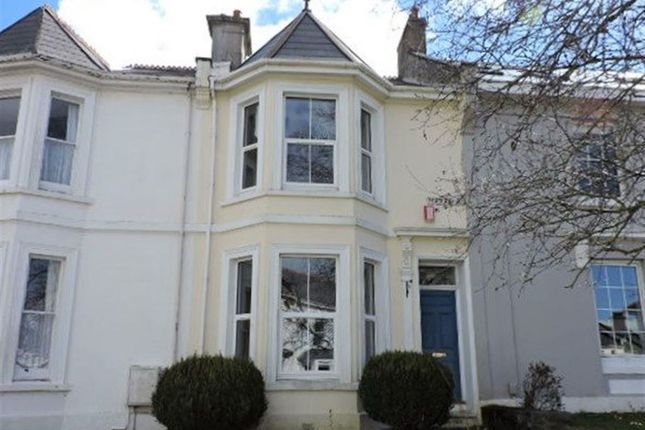 Thumbnail Terraced house to rent in Portland Road, Stoke, Plymouth