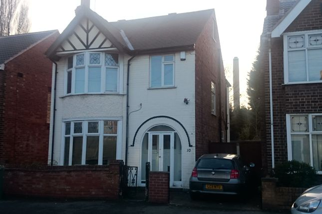 Thumbnail Semi-detached house to rent in Arnesby Road, Lenton, Nottingham