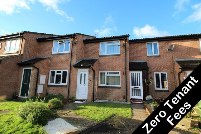 Thumbnail Terraced house to rent in Gillcrest, Fareham