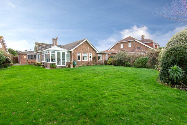 Thumbnail Detached bungalow for sale in Myrtle Grove, East Preston, Littlehampton