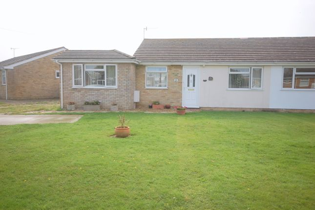 Thumbnail Semi-detached bungalow for sale in Beverley Close, Selsey