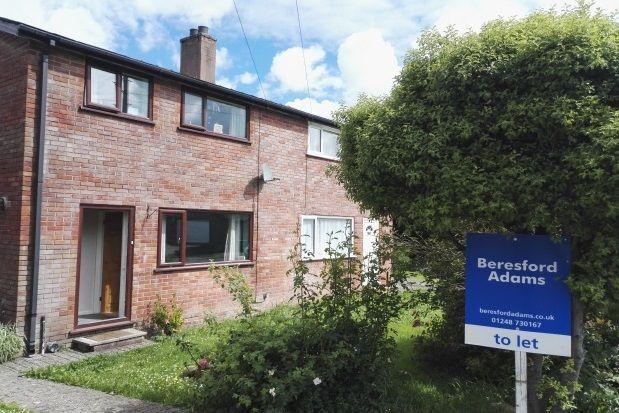 Thumbnail Property to rent in Rhosfryn, Bangor
