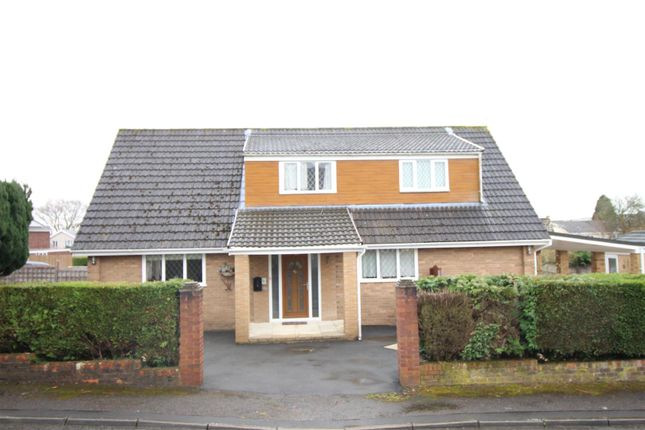 Thumbnail Detached bungalow for sale in Pettingale Road, Croesyceiliog, Cwmbran