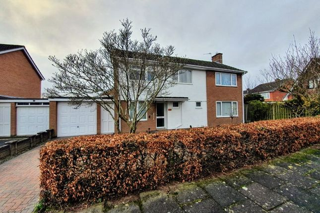 Thumbnail Detached house for sale in Sark Close, Carlisle