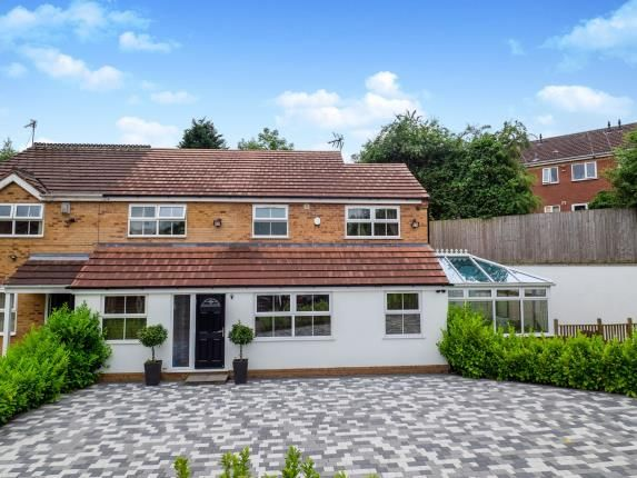 Thumbnail Semi-detached house for sale in Paddock Close, Cinderhill, Nottingham