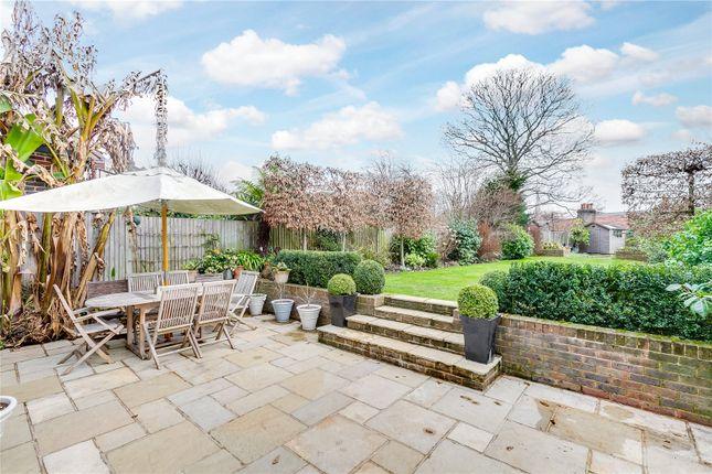 Garden of Rodway Road, Putney, London SW15