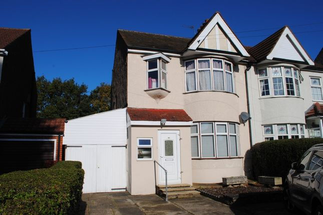 Semi-detached house for sale in Fairholme Avenue, Gidea Park, Romford