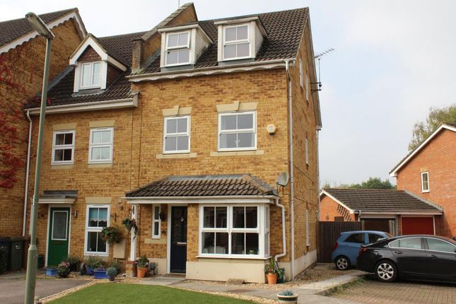 Thumbnail Town house for sale in Wellington Place, Ash Vale