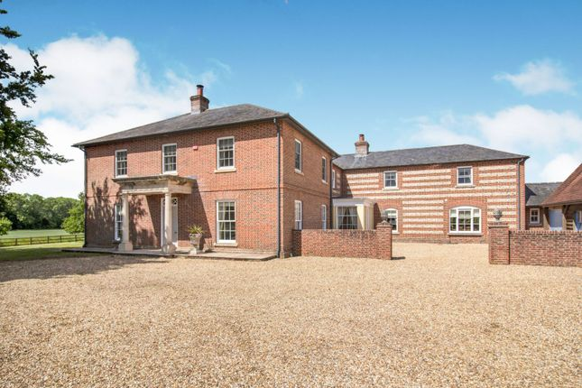 Thumbnail Detached house for sale in Chute Forest, Andover