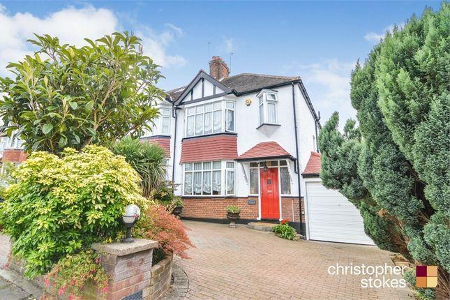 Thumbnail Semi-detached house for sale in Oakwood Crescent, London