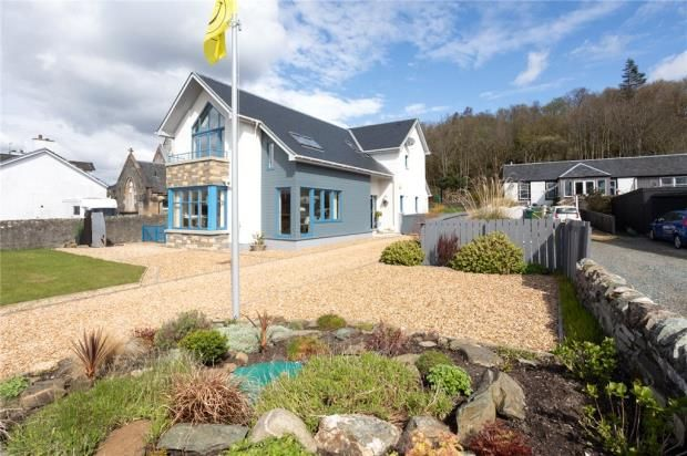 Thumbnail Detached house for sale in Riviera, Strone, Dunoon, Argyll And Bute