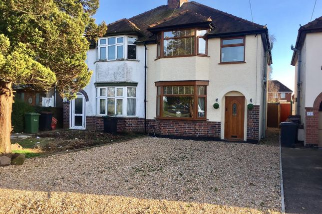 Thumbnail Semi Detached House For Sale In Hinckley Road Nuneaton