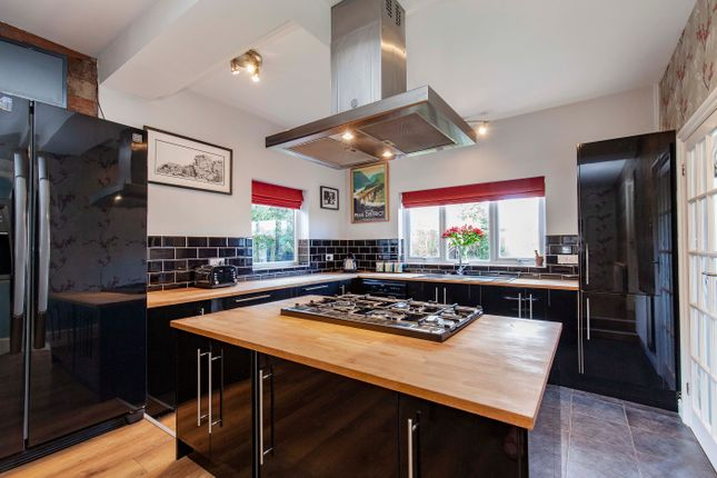 Thumbnail Detached house for sale in Top Road, Calow, Chesterfield