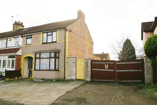 Thumbnail End terrace house for sale in Clayton Terrace, Jollys Lane, Yeading, Hayes
