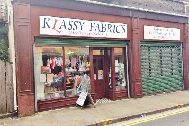 Thumbnail Retail premises for sale in 89 Bethcar Street, Ebbw Vale