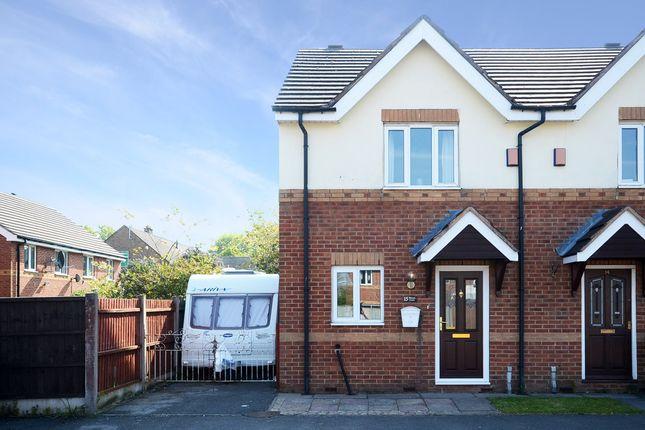 Thumbnail Town house for sale in Weston Court, Longton, Stoke-On-Trent