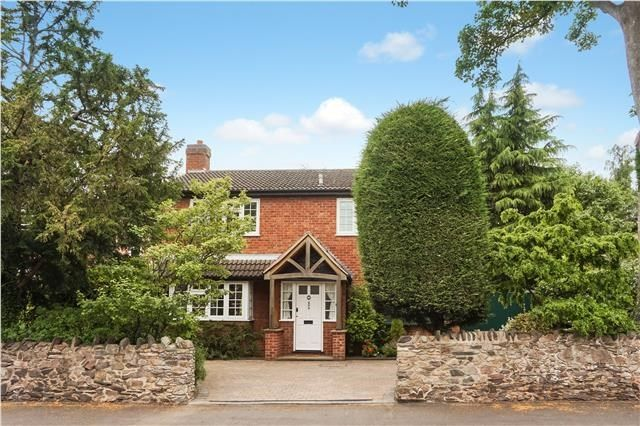 Thumbnail Detached house for sale in Forest Road, Loughborough