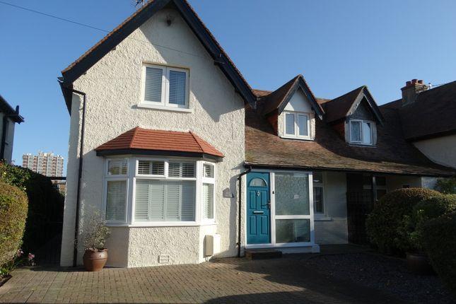 Thumbnail Semi-detached house for sale in Southdown Road, Bognor Regis