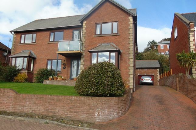 Thumbnail Detached house for sale in The Dell, Furnace, Llanelli