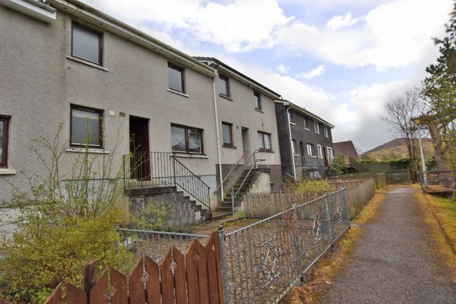 Thumbnail Terraced house for sale in Banff Crescent, Fort William