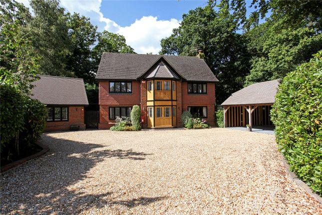 Thumbnail Detached house for sale in Aldershot Road, Church Crookham, Fleet, Hampshire