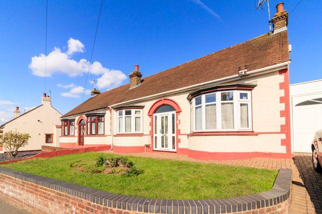 Thumbnail Semi-detached bungalow for sale in Eastcourt Lane, Gillingham