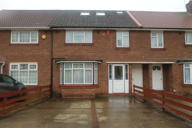 Thumbnail Terraced house to rent in Attlee Road, Hayes