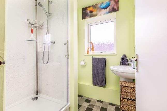 Shower Room of Hufling Court, Burnley, Lancashire BB11