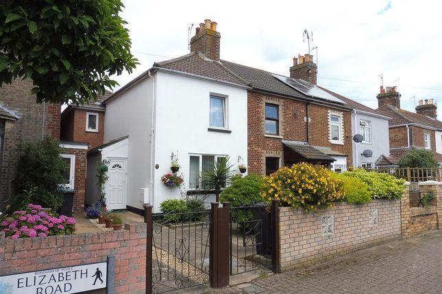Thumbnail End terrace house for sale in Elizabeth Road, Poole