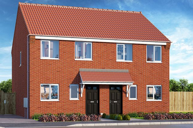 "Thumbnail Property for sale in ""The Cornflower"" at Brook Park East Road, Shirebrook, Mansfield"