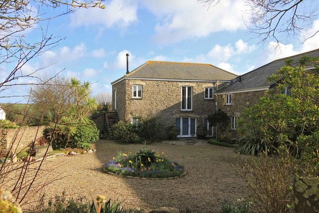 Thumbnail Barn conversion for sale in Boswinger, St. Austell, Cornwall