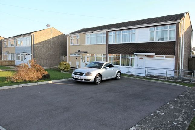Thumbnail Semi-detached house for sale in Bedford Rise, Boverton, Llantwit Major