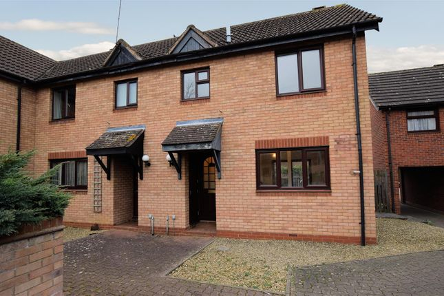 Thumbnail End terrace house for sale in Weavers Close, Shipston-On-Stour
