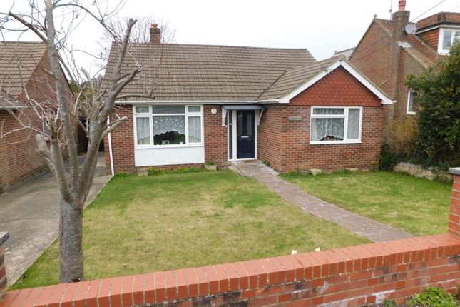 Thumbnail Detached bungalow for sale in Wellington Close, Southampton