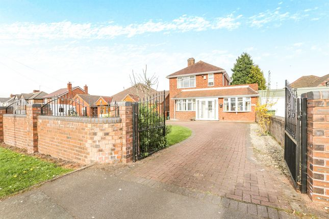 Thumbnail Detached house for sale in Long Knowle Lane, Wednesfield, Wolverhampton