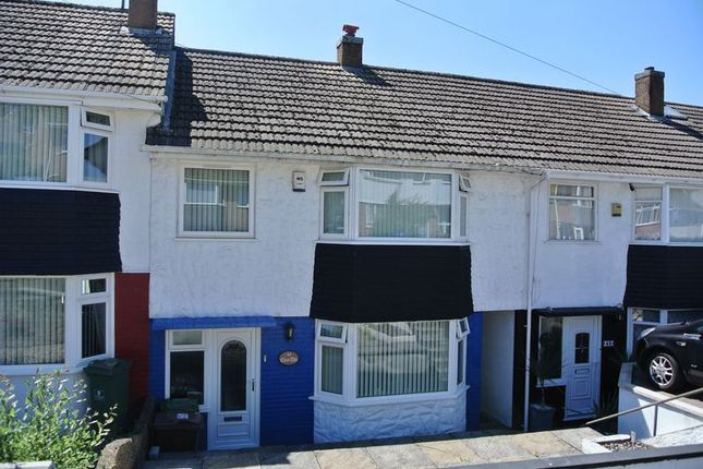 Thumbnail Terraced house for sale in Ashford Crescent, Plymouth