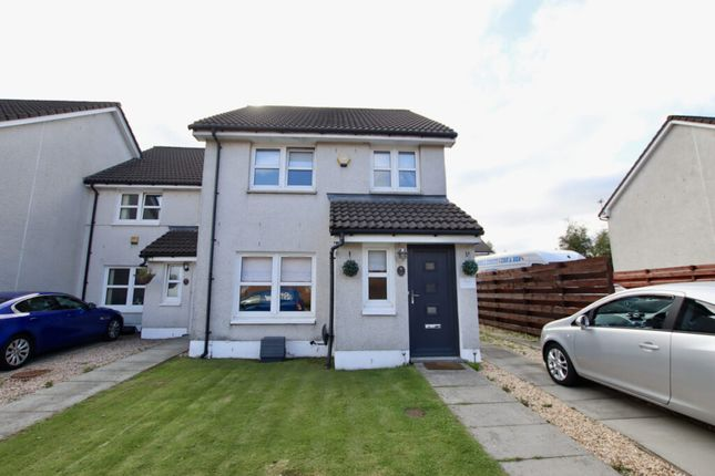 Thumbnail End terrace house for sale in Colston Row, Airdrie