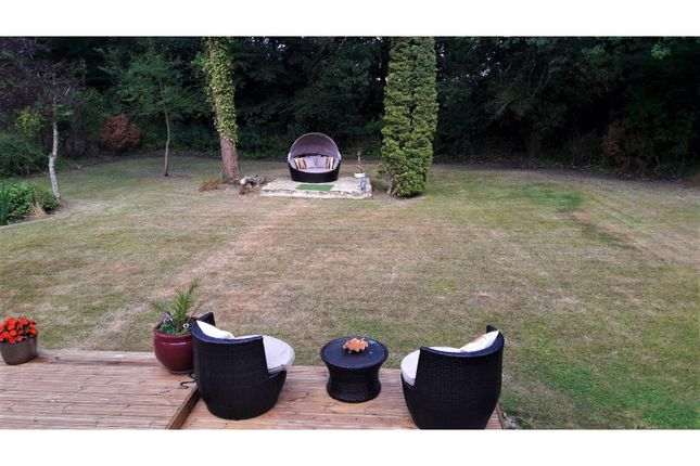 Rear Garden of Hurn Lane, Ringwood BH24