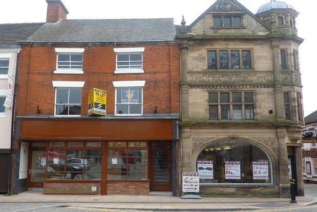Thumbnail Flat to rent in Flat 1, 27 Market Place, Uttoxeter