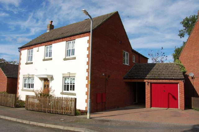 Thumbnail 4 bed detached house for sale in Old Forge Drive, West Haddon, Northampton
