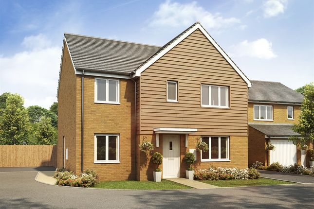 "Thumbnail Detached house for sale in ""The Corfe"" at Goshawk Green, Leighton Buzzard"