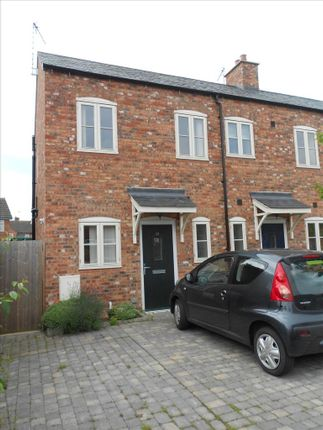 Thumbnail End terrace house to rent in Spring Gardens, The Square, Littlethorpe, Leicester