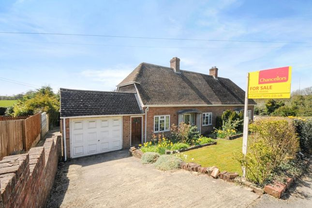 Thumbnail Semi-detached house for sale in Lambourn Woodlands, Newbury, Berkshire