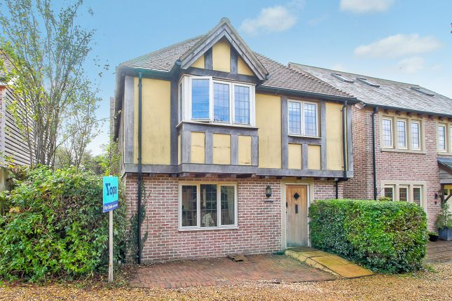 4 bed link-detached house for sale in The Street, Binsted, Alton GU34